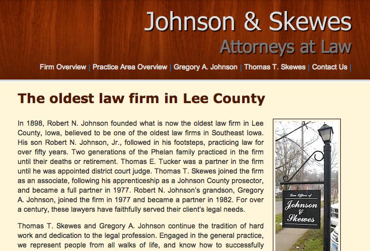 Johnson & Skewes