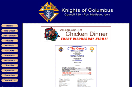 Knights of Columbus, Council 739