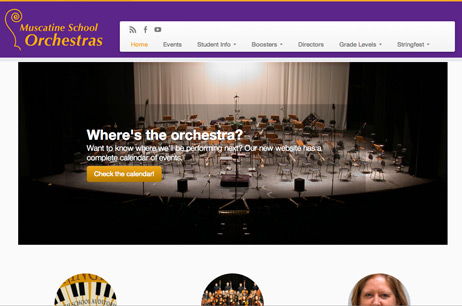 Muscatine School Orchestras