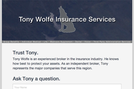 Tony Wolfe Insurance Services