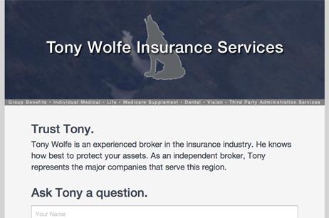 Tony Wolfe Insurance Services